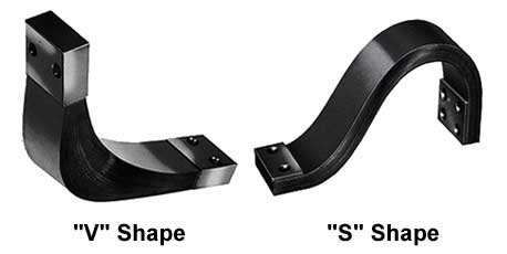 less common shunt shapes